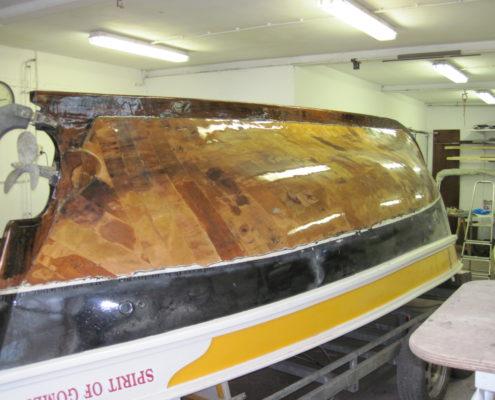 Boot reparatie Loosdrecht - Onderhoud portugese sloep 4