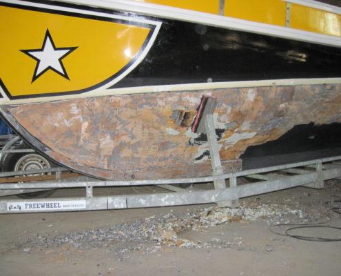 Boot reparatie Loosdrecht - Onderhoud portugese sloep