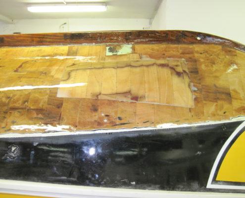 Boot reparatie Loosdrecht - Onderhoud portugese sloep 5