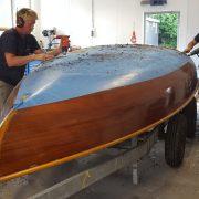 Zeilboot onderhoud Loosdrecht stap 1